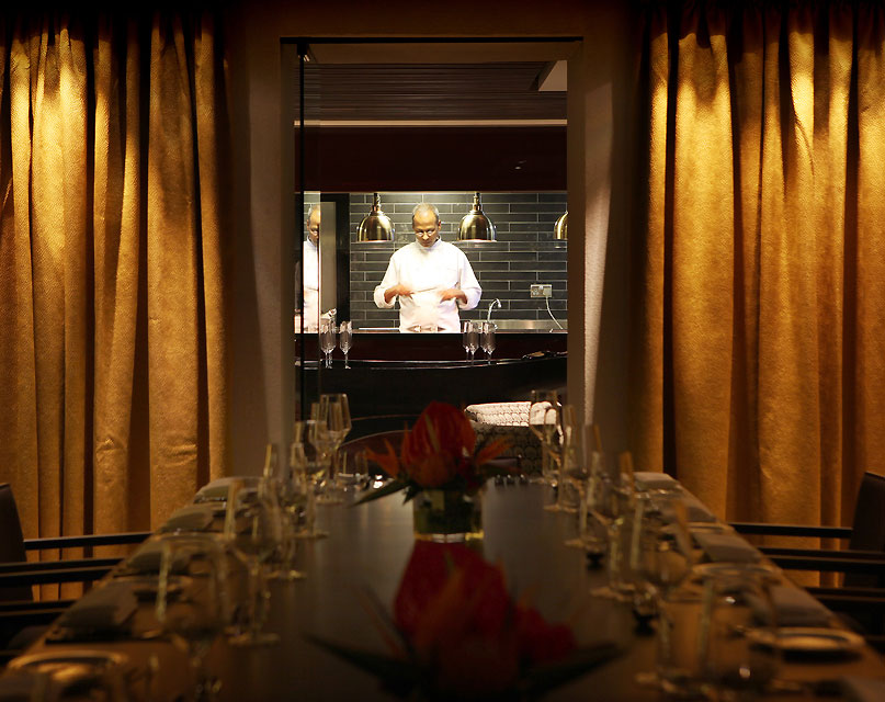 Quilon Private Dining Chef's Kitchen