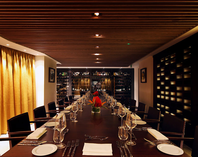 Quilon restaurant private events kensington london for Q dining room london